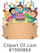 Birthday Party Clipart #1560864 by visekart