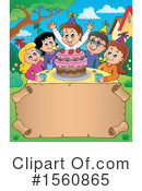 Birthday Party Clipart #1560865 by visekart