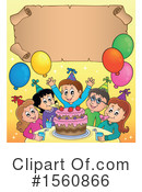 Birthday Party Clipart #1560866 by visekart