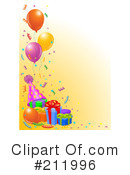 Birthday Party Clipart #211996