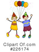 Birthday Party Clipart #226174 by BNP Design Studio
