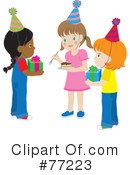 Royalty-Free (RF) Birthday Party Clipart Illustration #77223