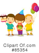 Birthday Party Clipart #85354 by mayawizard101