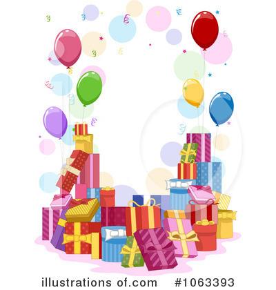 Royalty Free RF Birthday Present Clipart Illustration 1063393 By BNP Design Studio