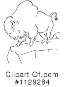 Bison Clipart #1129284 by Picsburg