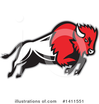 Buffalo Clipart #1411551 by patrimonio