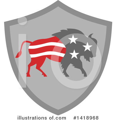 Buffalo Clipart #1418968 by patrimonio
