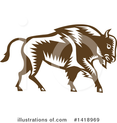Buffalo Clipart #1418969 by patrimonio
