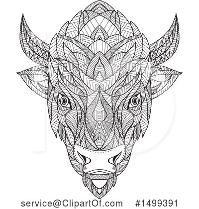 Buffalo Clipart #1499391 by patrimonio