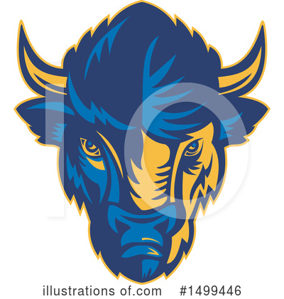 Buffalo Clipart #1499446 by patrimonio