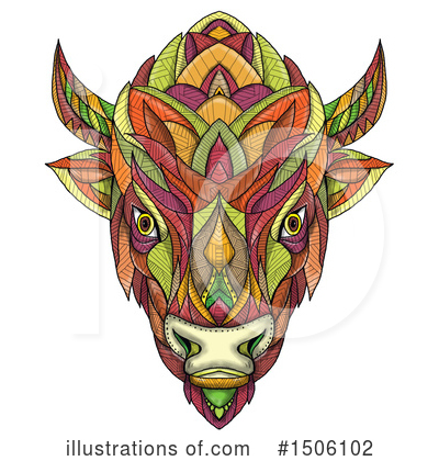 Buffalo Clipart #1506102 by patrimonio