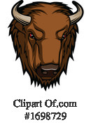 Bison Clipart #1698729 by Vector Tradition SM