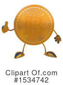 Bitcoin Character Clipart #1534742 by Julos