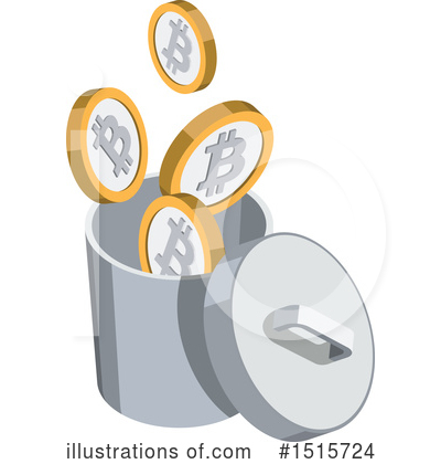 Bitcoin Clipart #1515724 by beboy