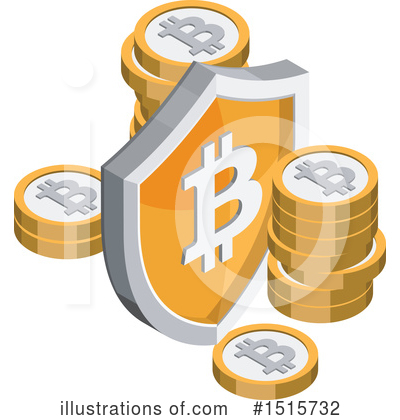 Bitcoin Clipart #1515732 by beboy