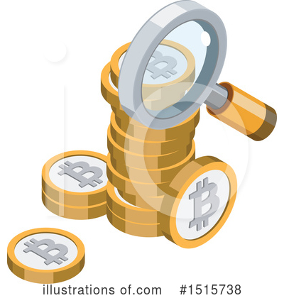 Bitcoin Clipart #1515738 by beboy