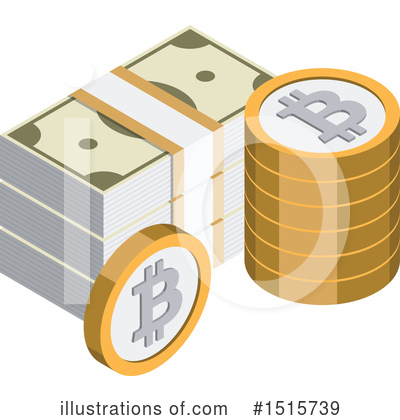 Bitcoin Clipart #1515739 by beboy
