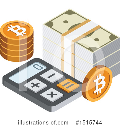 Bitcoin Clipart #1515744 by beboy