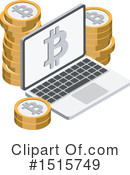 Bitcoin Clipart #1515749 by beboy