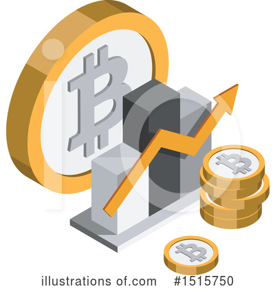 Royalty-Free (RF) Bitcoin Clipart Illustration by beboy - Stock Sample #1515750