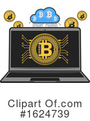 Bitcoin Clipart #1624739 by Vector Tradition SM
