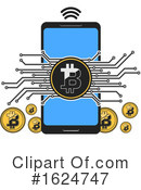 Bitcoin Clipart #1624747 by Vector Tradition SM