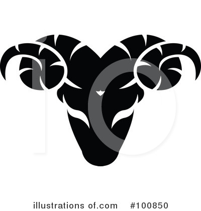 Black And White Zodiac Clipart #100850 by cidepix