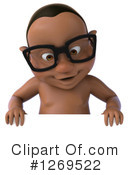Black Baby Clipart #1269522 by Julos