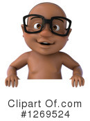 Black Baby Clipart #1269524 by Julos