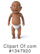 Black Baby Clipart #1347920 by Julos