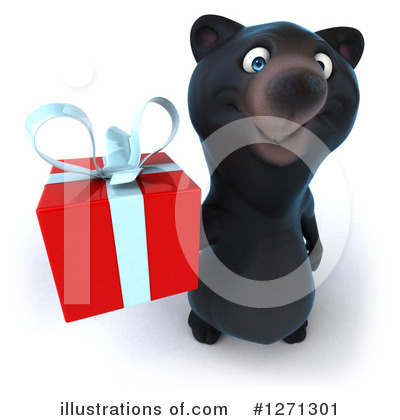 Black Bear Clipart #1271301 by Julos