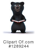 Black Bear Clipart #1289244 by Julos