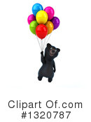Black Bear Clipart #1320787 by Julos