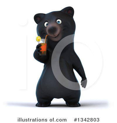 Black Bear Clipart #1342803 by Julos