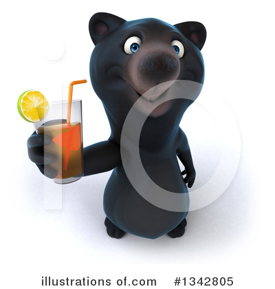 Black Bear Clipart #1342805 by Julos