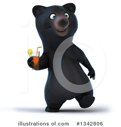 Black Bear Clipart #1342806 by Julos