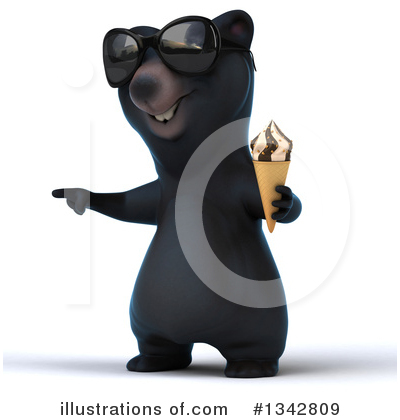 Black Bear Clipart #1342809 by Julos