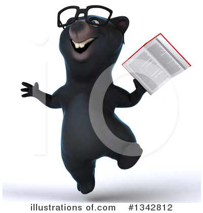 Black Bear Clipart #1342812 by Julos