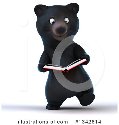 Black Bear Clipart #1342814 by Julos