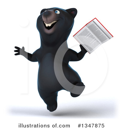 Black Bear Clipart #1347875 by Julos