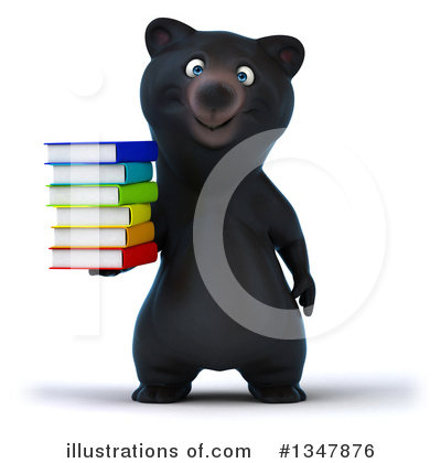 Black Bear Clipart #1347876 by Julos
