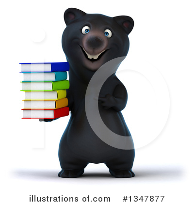 Black Bear Clipart #1347877 by Julos