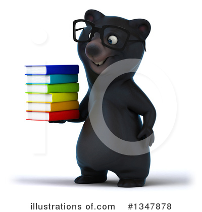 Black Bear Clipart #1347878 by Julos