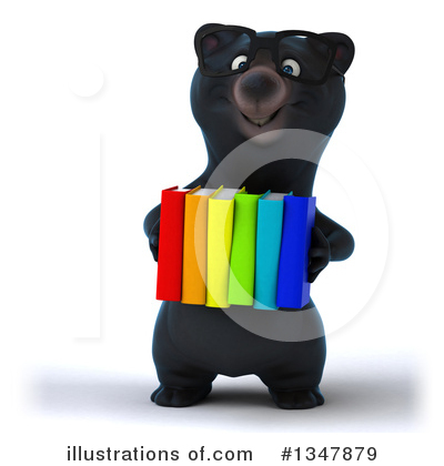 Black Bear Clipart #1347879 by Julos