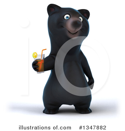 Black Bear Clipart #1347882 by Julos
