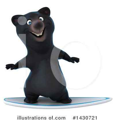 Black Bear Clipart #1430721 by Julos