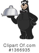 Black Bear School Mascot Clipart #1366935 by Toons4Biz
