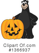 Black Bear School Mascot Clipart #1366937 by Toons4Biz