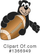Black Bear School Mascot Clipart #1366949 by Toons4Biz
