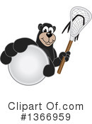 Black Bear School Mascot Clipart #1366959 by Toons4Biz